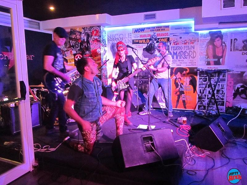 Los Cracks en concierto Tenerife