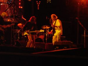 Neil Young en concierto. Foto de Carlos Pérez Báez