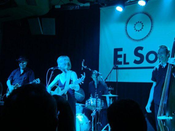 Eilen Jewell en concierto, sala El Sol, Madrid