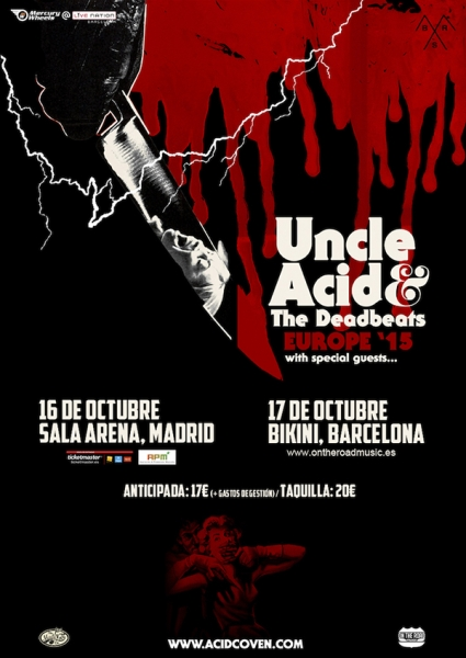 Uncle Acid and the Deadbeats The Night Creeper, nuevo disco y gira española