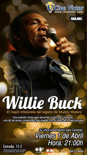Willie Buck en concierto, 1 de abril 2011, Tenerife