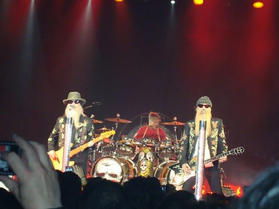 ZZ TOP en Madrid, 14 de julio de 2011