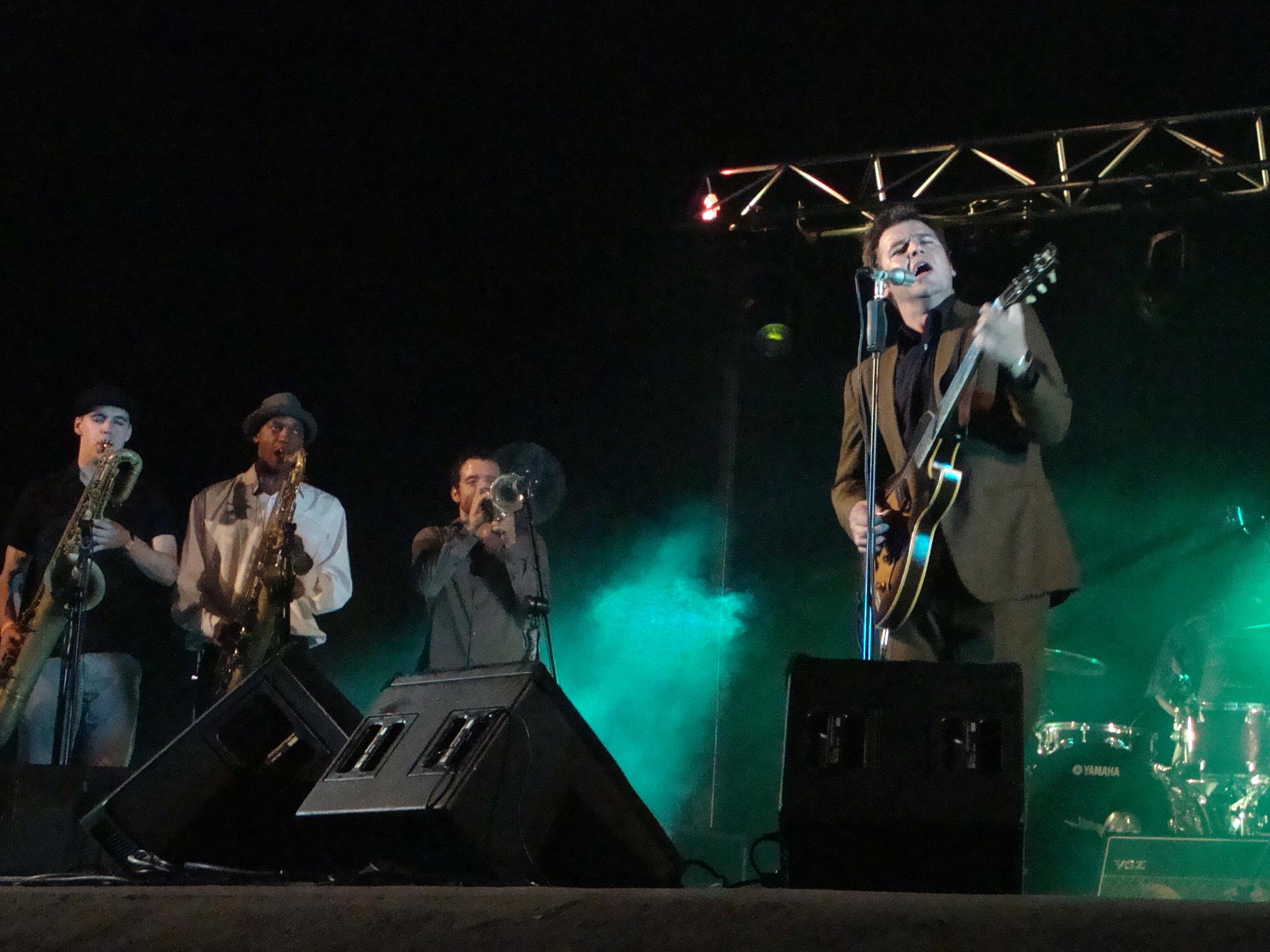 Eli Paperboy Reed & The True Loves. 22 de julio de 2011 en Las Palmas de Gran Canaria.