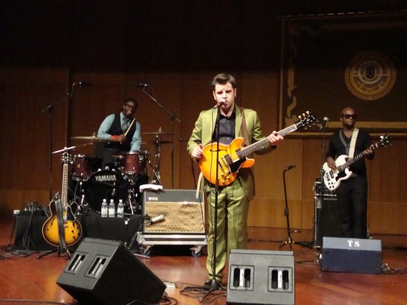 "Eli ""Paperboy"" Reed & The True Loves, 20 nov 2010 en Las Palmas de Gran Canaria"