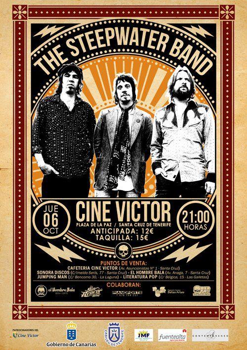 The Steepwater Band en concierto, 6 de octubre de 2011 en Tenerife 2011