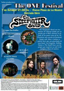 The Steepwater Band en Las Palmas de Gran Canaria