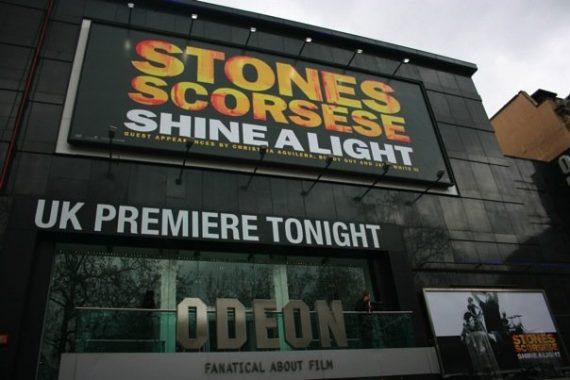 Estreno Shine a Light 2 de abril 2008.