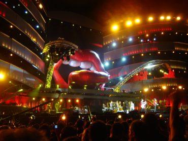 The Rolling Stones, 28 de junio de 2007 en el estadio Vicente Calderón de Madrid.