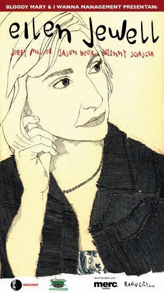 Eilen Jewell visita España del 19 al 23 de octubre de 2011