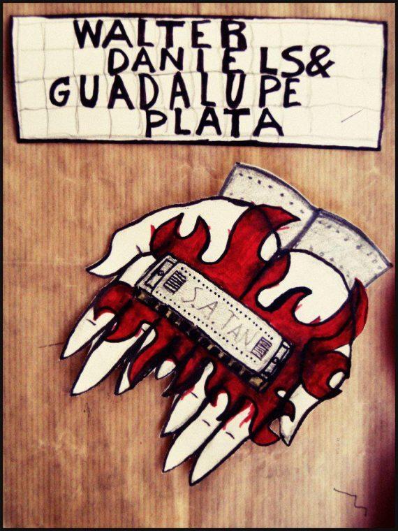 Guadalupe Plata y Walter Daniels de gira 2011.