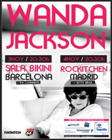 Wanda Jackson, Spanish Tour 2011