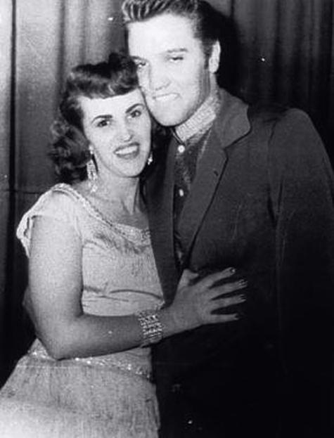 Wanda Jackson y Elvis Presley