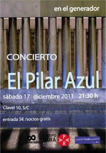 El Pilar Azul en concierto