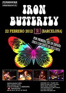 Iron Butterfly European Tour 2012, Barcelona
