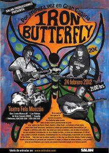 Iron Butterfly European Tour 2012, Las Palmas de Gran Canaria.