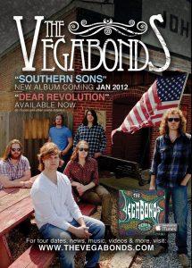 The Vegabonds, European and Spanish Tour 2012