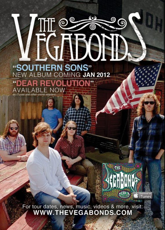 The Vegabonds, European and Spanish Tour 2012