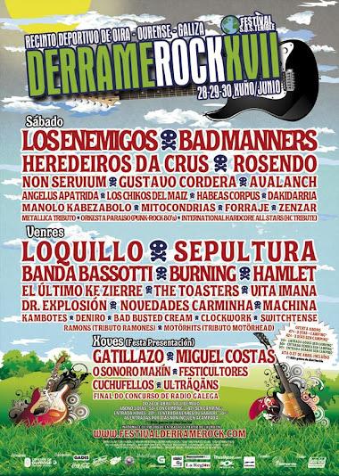 17ª Edición del Derrame Rock 2012