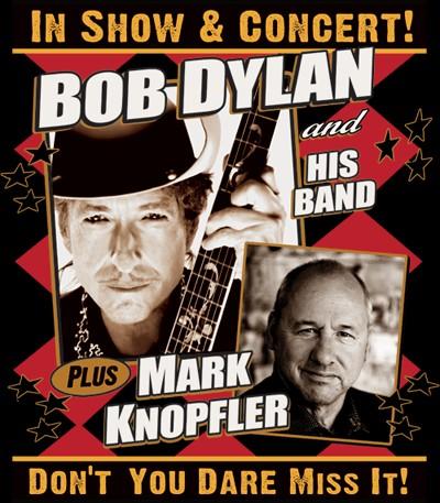 Bob Dylan Mark Knopfler European Tour 2011