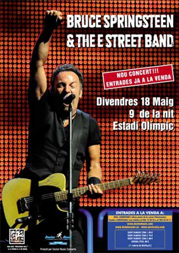 Bruce Springsteen & The E Street Band en España 2012