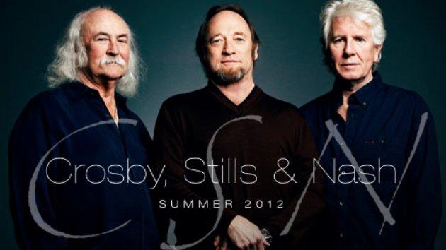 Crosby, Stills & Nash Tour Summer 2012.