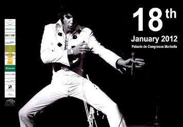 Elvis Presley, TCB con James Burton en España 2012