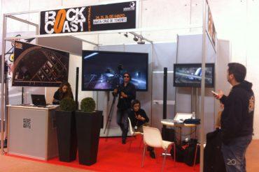 Stand en Fitur 2012 del Festival RockCoast de LM Producciones