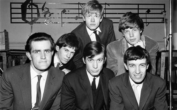 """Ian Stewart """"Stu"""" con The Rolling Stones"""