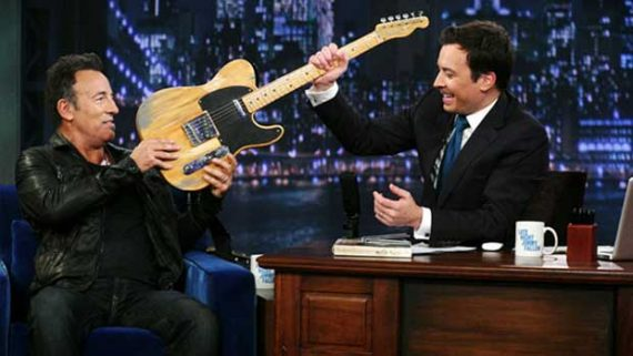 Late Night with Jimmy Fallon y Bruce Springsteen week