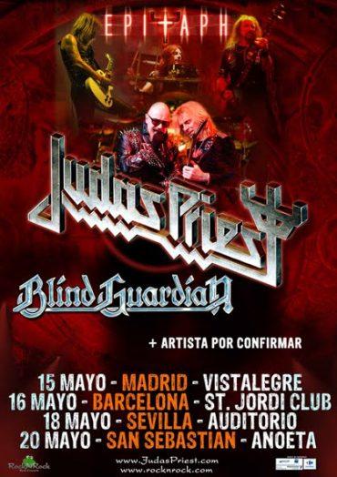 Judas Priest gira española 2012