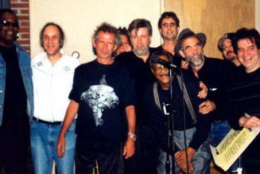 Keith Richards y Hubert Sumlin.