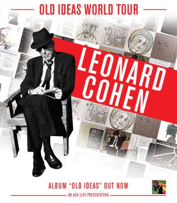 Leonard Cohen Old Ideas World Tour 2012 España