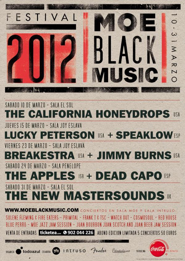 MOE Black MUSIC Festival Madrid 2012