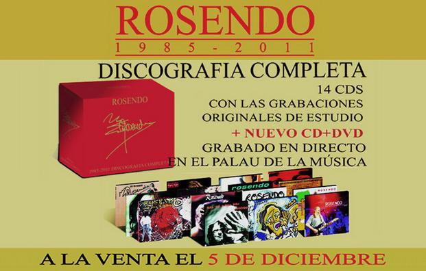 Rosendo, discografía completa