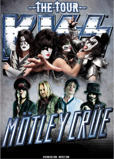 THE TOUR, Kiss y Mötley Crüe 2012