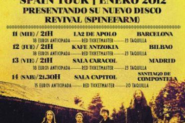 The Answer, Spanish Tour 2012, Revival Spinefarm