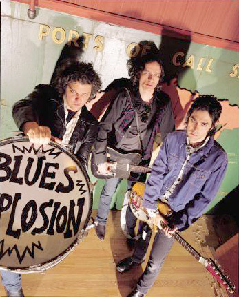 The Jon Spencer Blues Explosion de gira en España, 2012