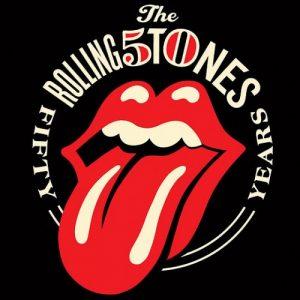 The Rolling Stones 50 años logo 2012