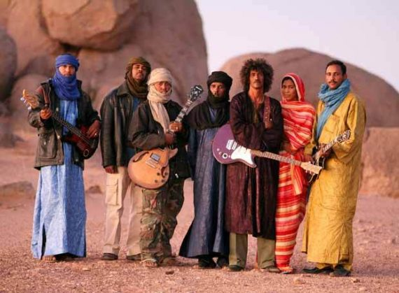 Tinariwen, Tassili. Blues del desierto.