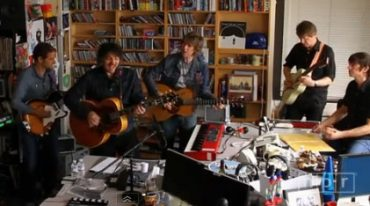 "Wilco en la NPR Music.Tiny Desk Concerts, presentando ""The Whole Love"" 2011"