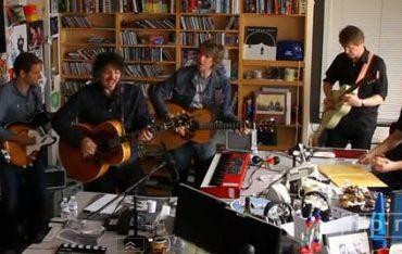 """Wilco en la NPR Music.Tiny Desk Concerts, presentando """"The Whole Love"""" 2011"""