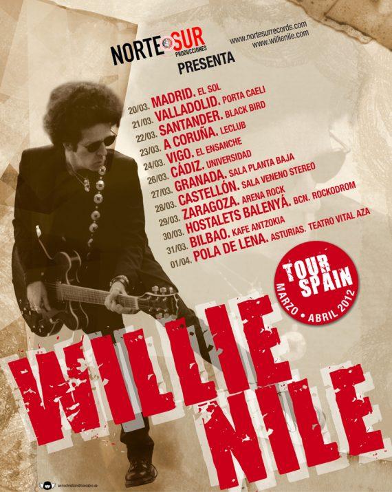 Wille Nile, Spain Tour 2012.