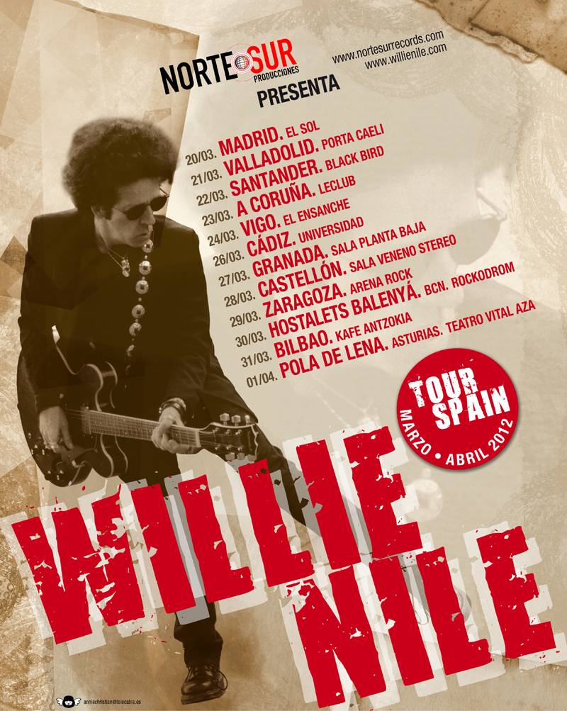 Wille Nile, Spain Tour 2012.