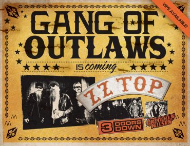 "ZZ Top, ""Gang of Outlaws Tour 2012"""