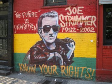Joe Strummer, The Future is unwritten, know your rights!