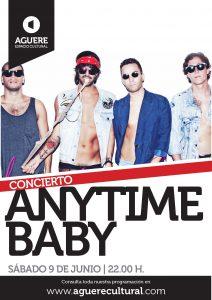 Anytime,Baby en el Aguere Espacio Cultural de La Laguna Tenerife 9 junio de 2012
