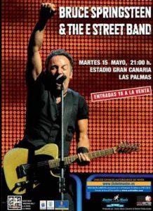 Bruce Springsteen & The E Street Band 15-mayo-2012 en el Estadio de Gran Canaria en Las Palmas