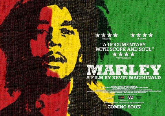 """Marley"", 2012 de Kevin Macdonald. Documental-Film sobre Bob Marley."