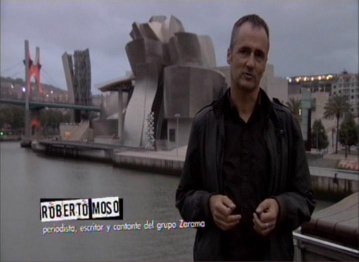 Roberto Moso, periodista, escritor y cantante de Zarama
