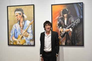 """Ronnie Wood, """"Faces, Times and Places"""""""